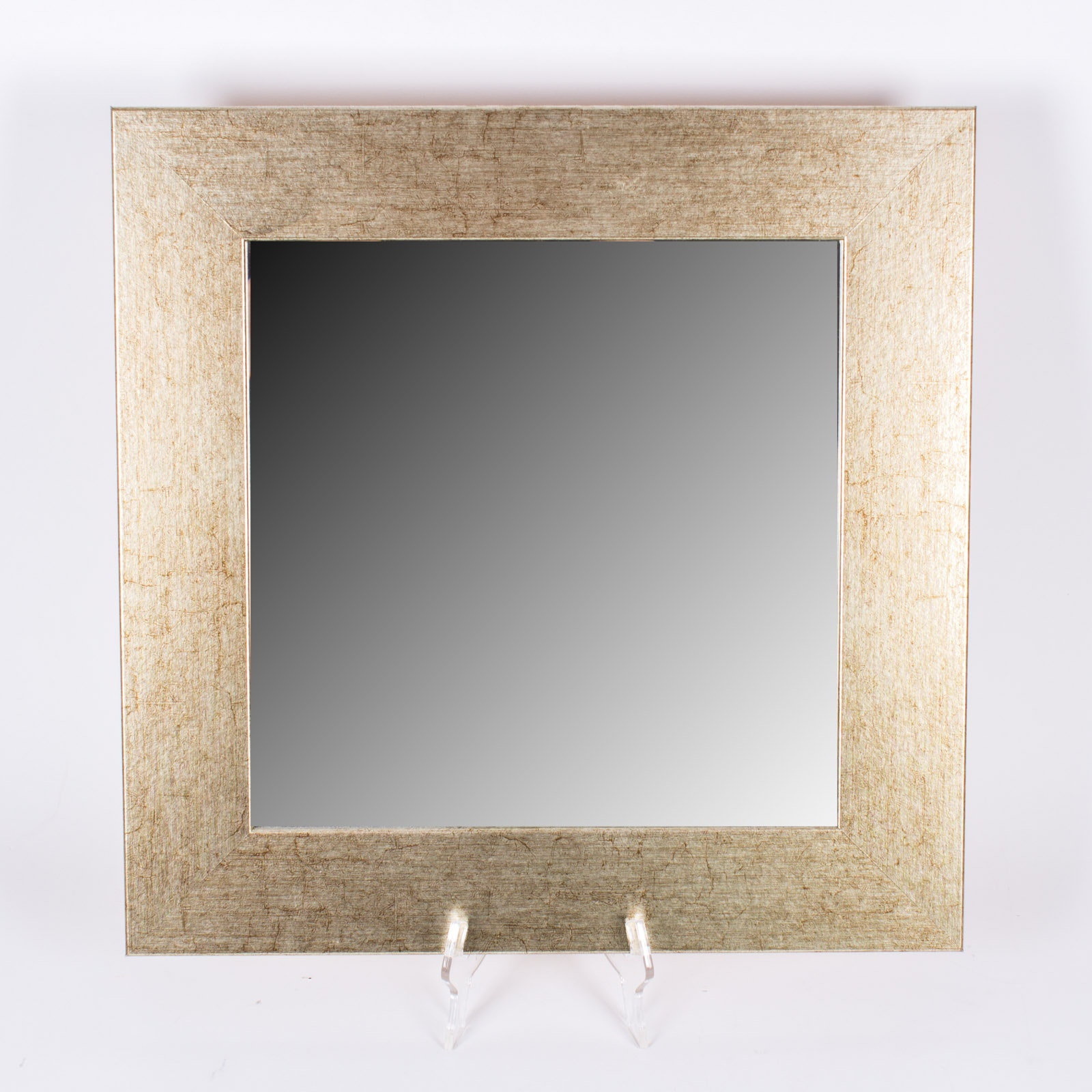 Square Gilded Wall Mirror