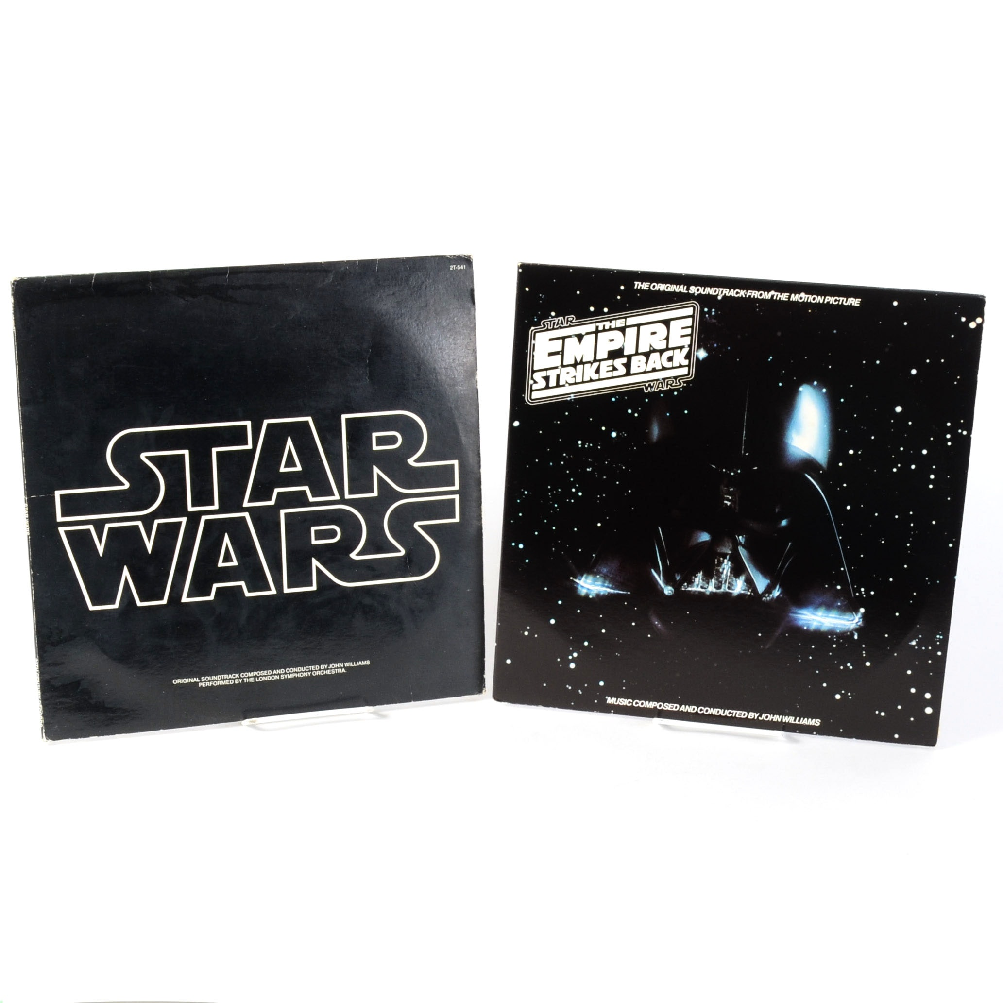 "1977 ""Star Wars,"" 1980 ""Empire Strikes Back"" Soundtrack Albums"