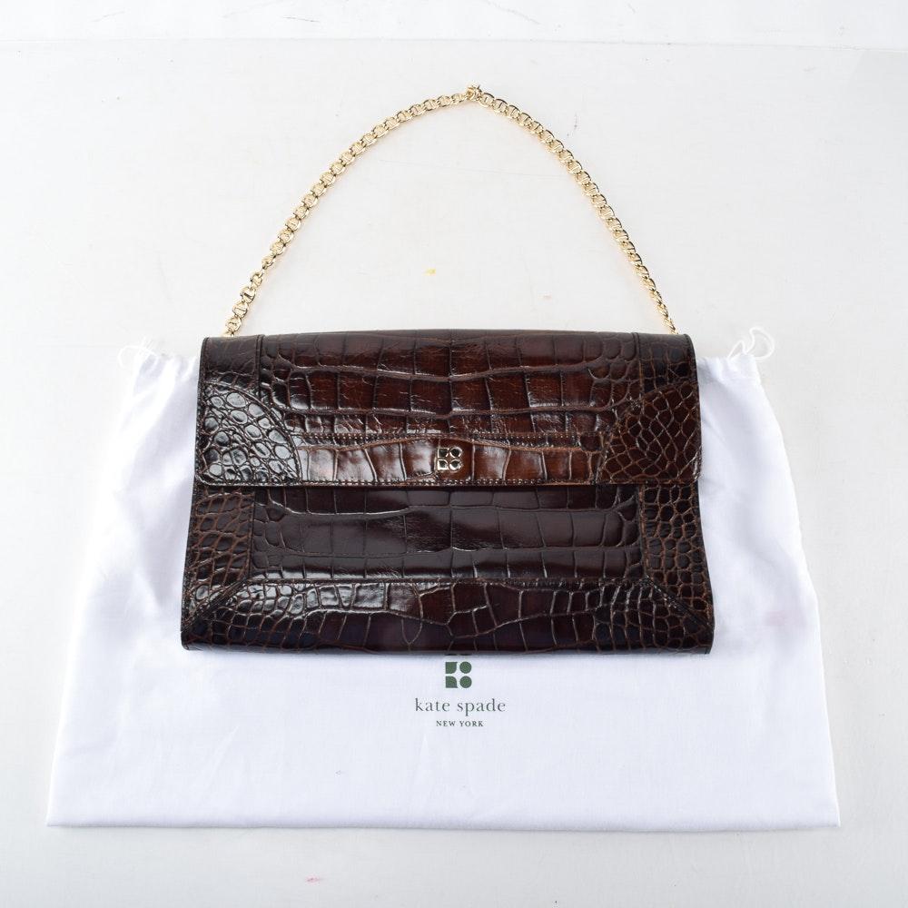 Kate Spade New York Embossed Leather Handbag