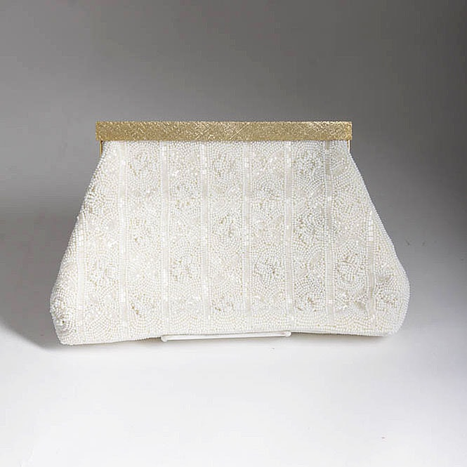 Vintage Women's Beaded Handbag