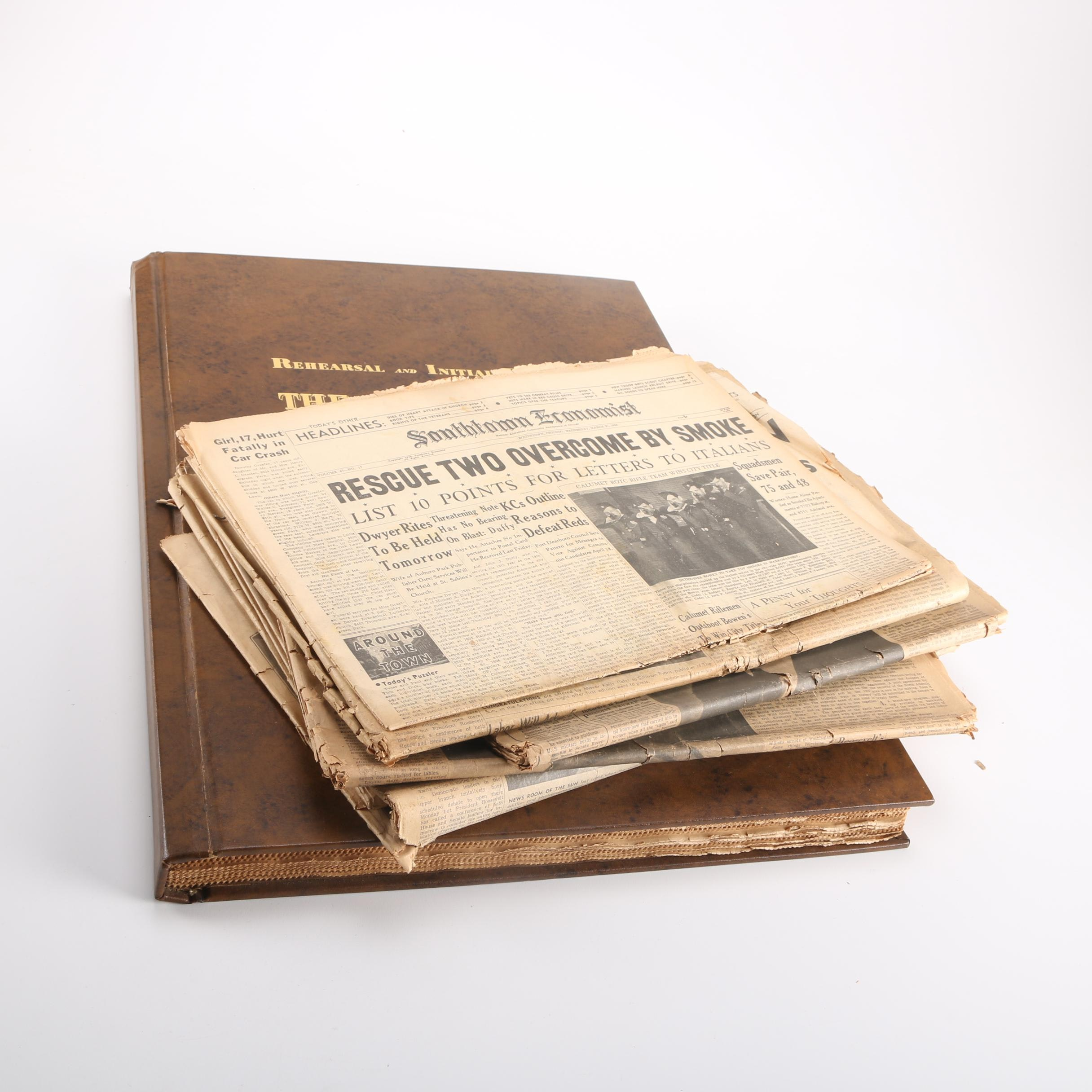 Collection of 1940s Newspapers