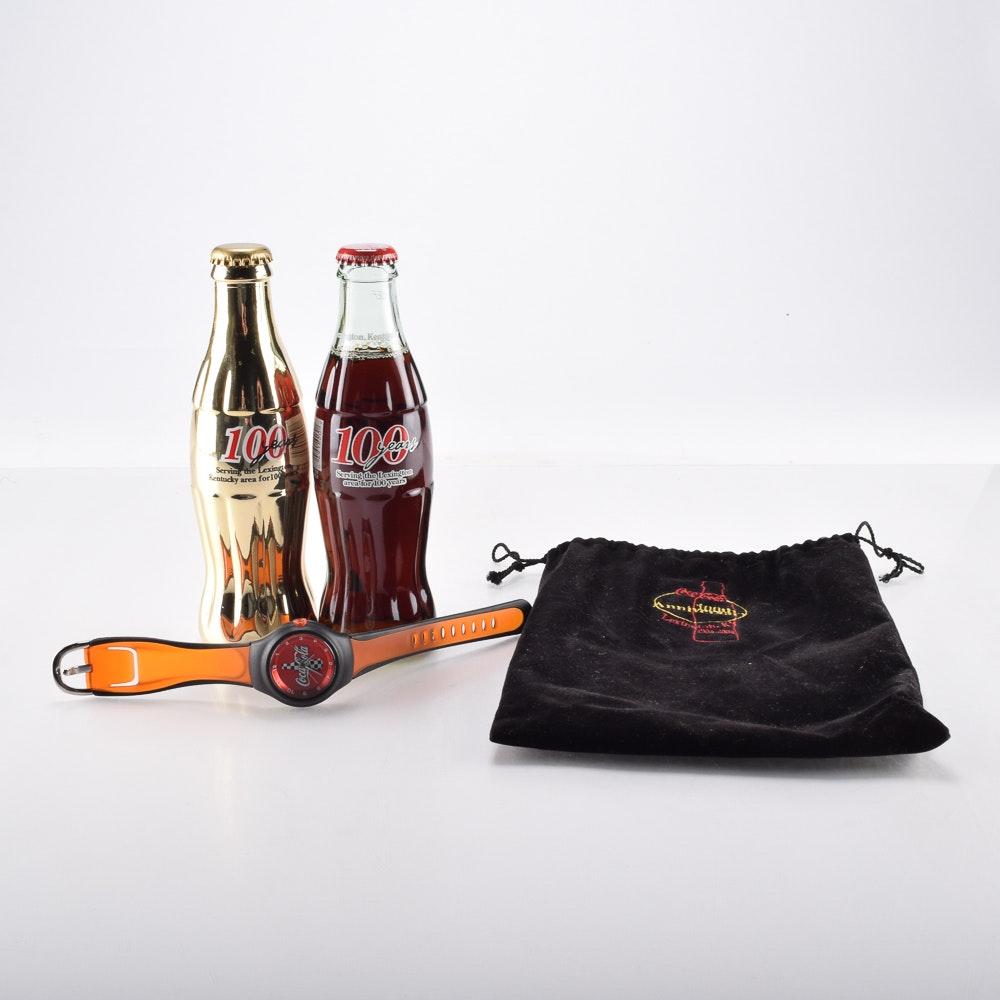 100th Anniversary Coca Cola Bottles