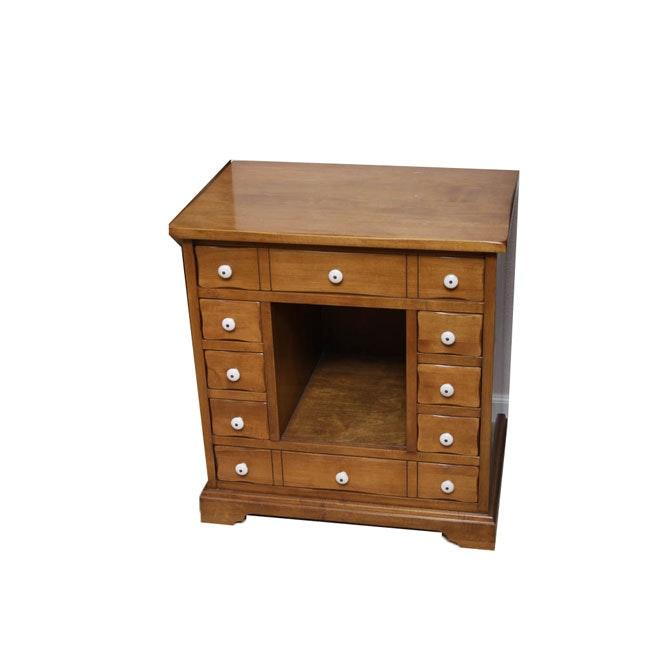 Twelve-Drawer Side Cabinet