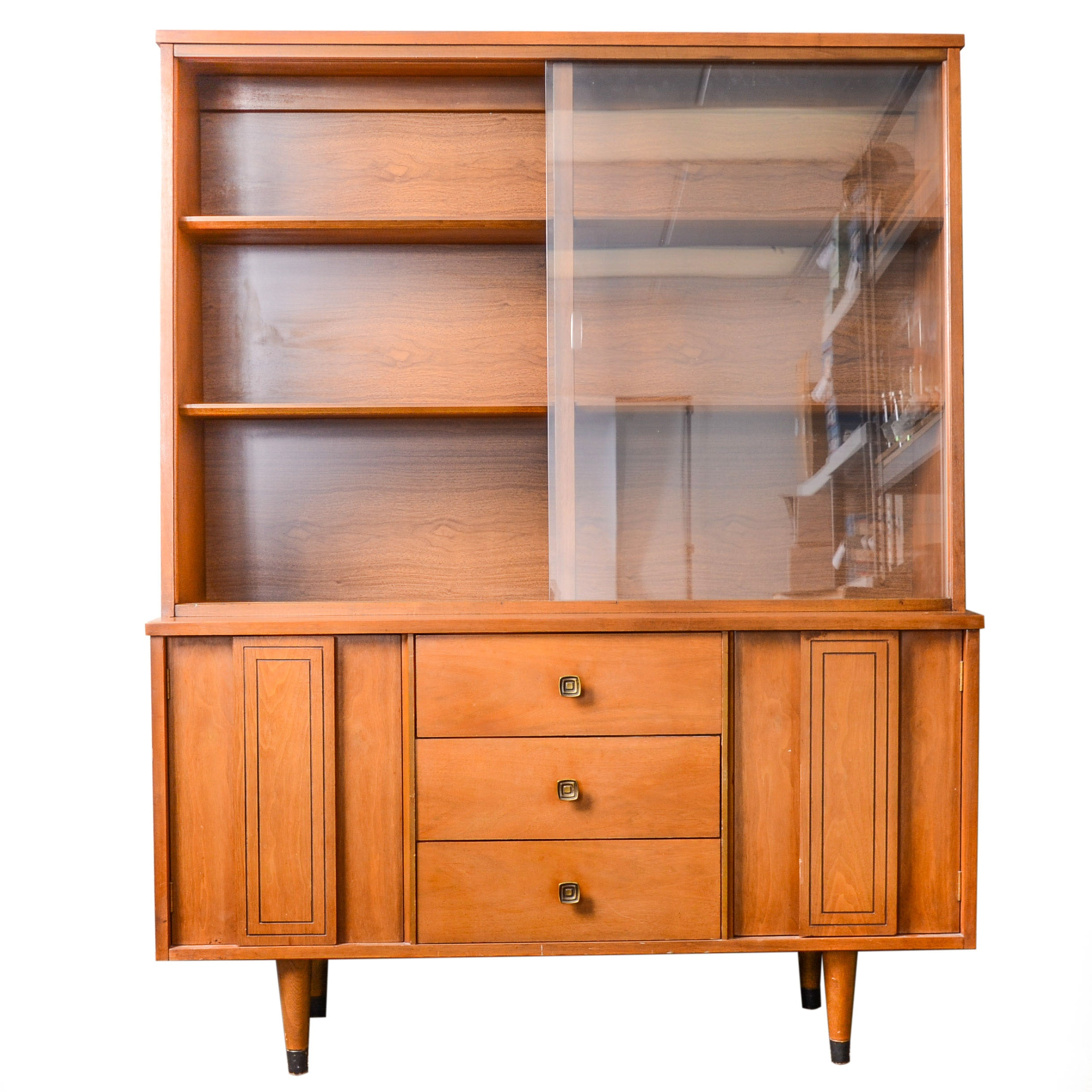 Mid Century Modern Style Hutch by Stanley Furniture