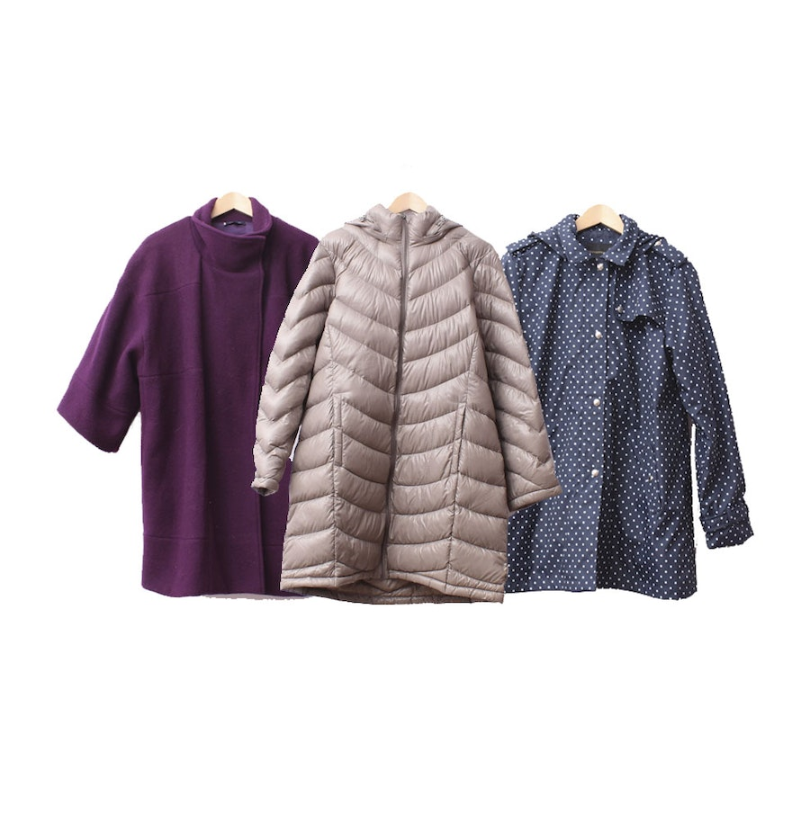 Collection of Women's Winter Coats including Calvin Klein and Anne ...