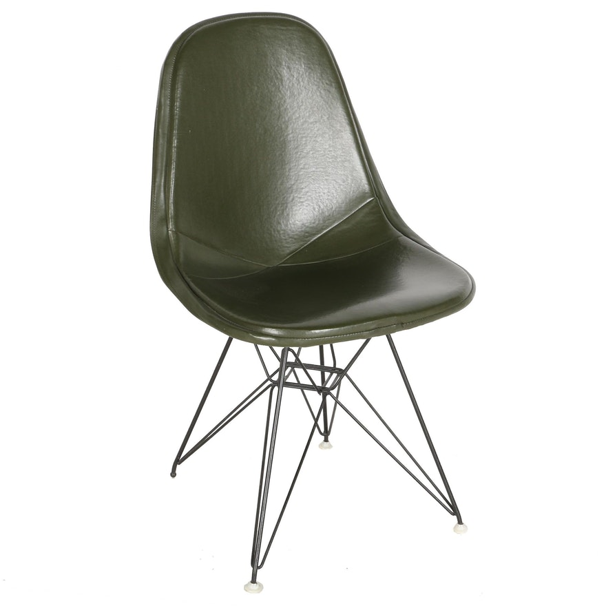 "Mid Century Modern ""DKR-1"" Wire Chair by Eames for Herman Miller With Provenance"
