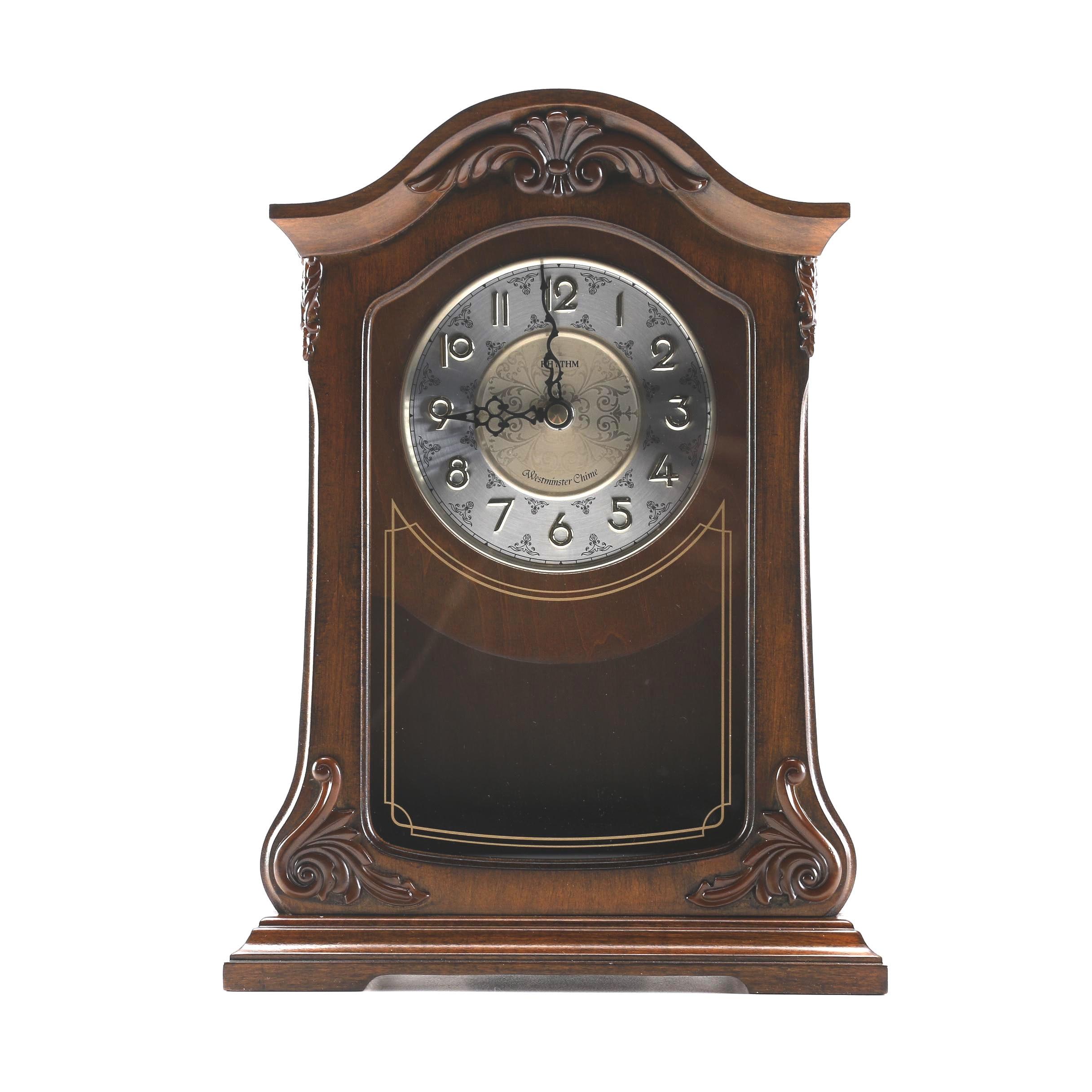Rhythm Westminster Chime Musical Mantel Clock