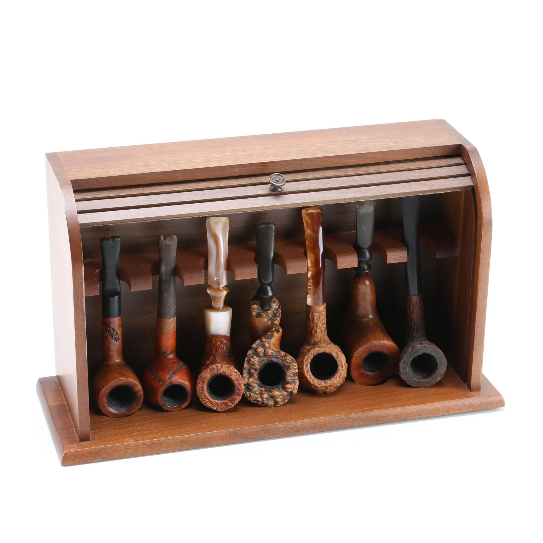 Pipes With Roll Top Stand
