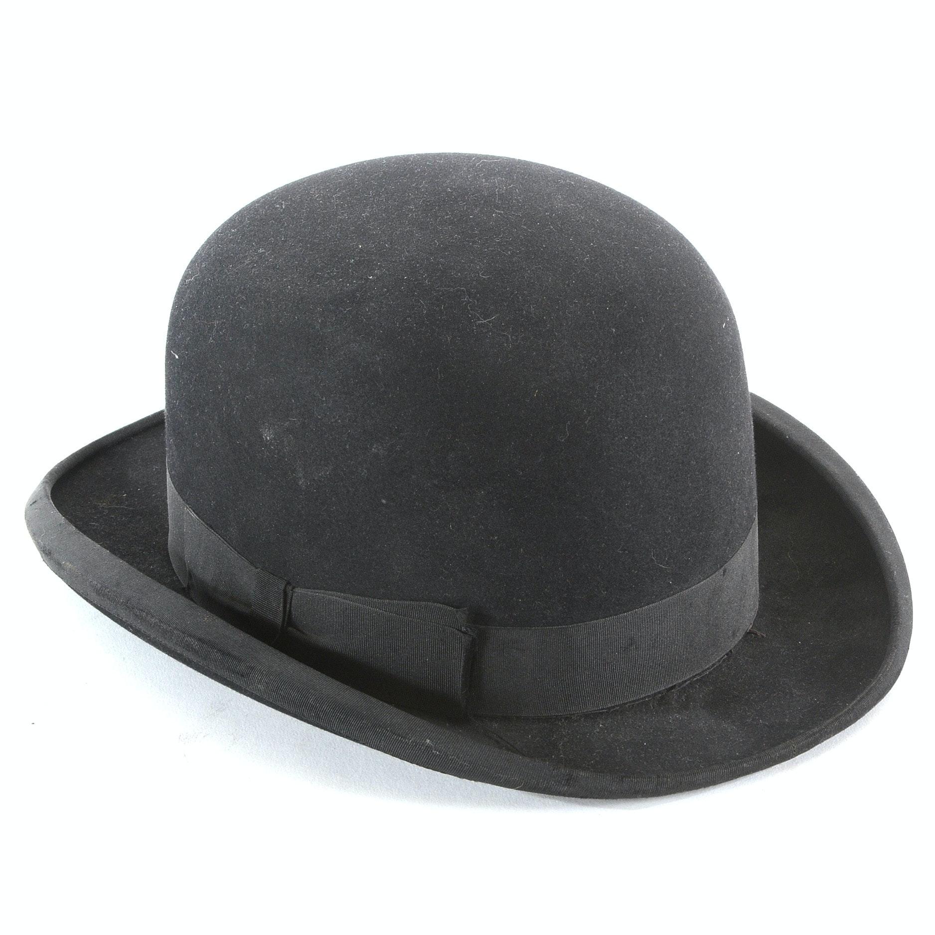 Vintage Men's Bowler Hat