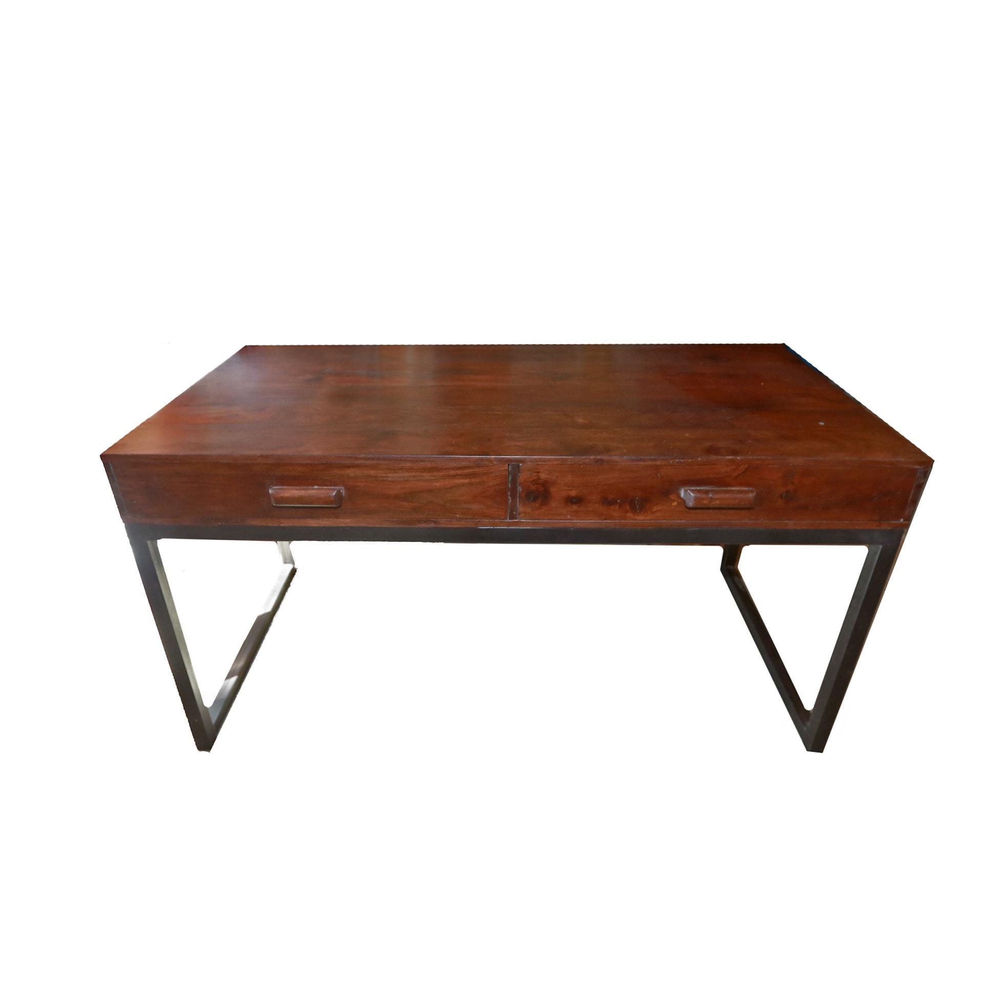 Mahogany Mid Century Modern Desk