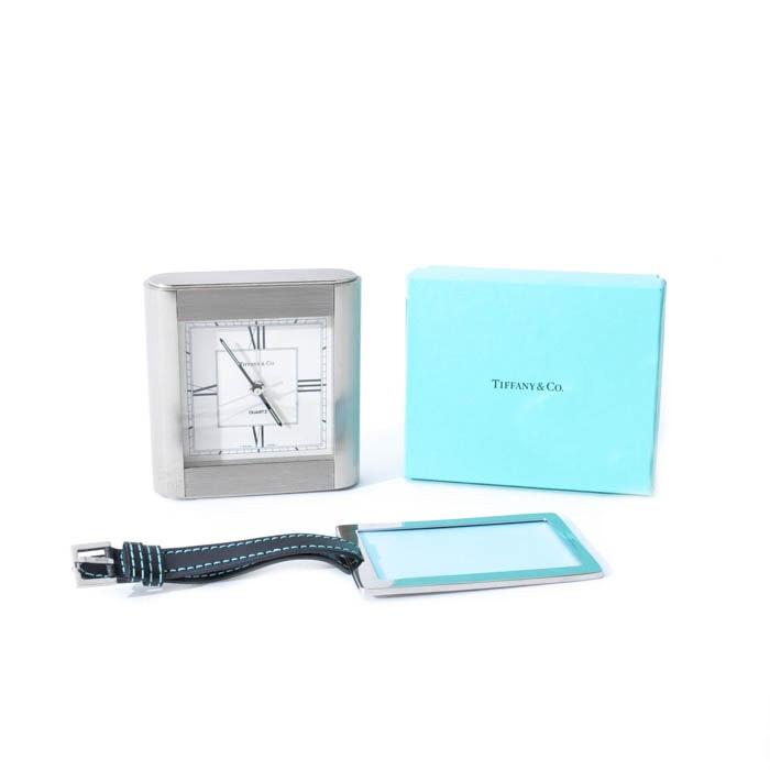 Tiffany & Co. Million Miler Luggage Tag and Clock