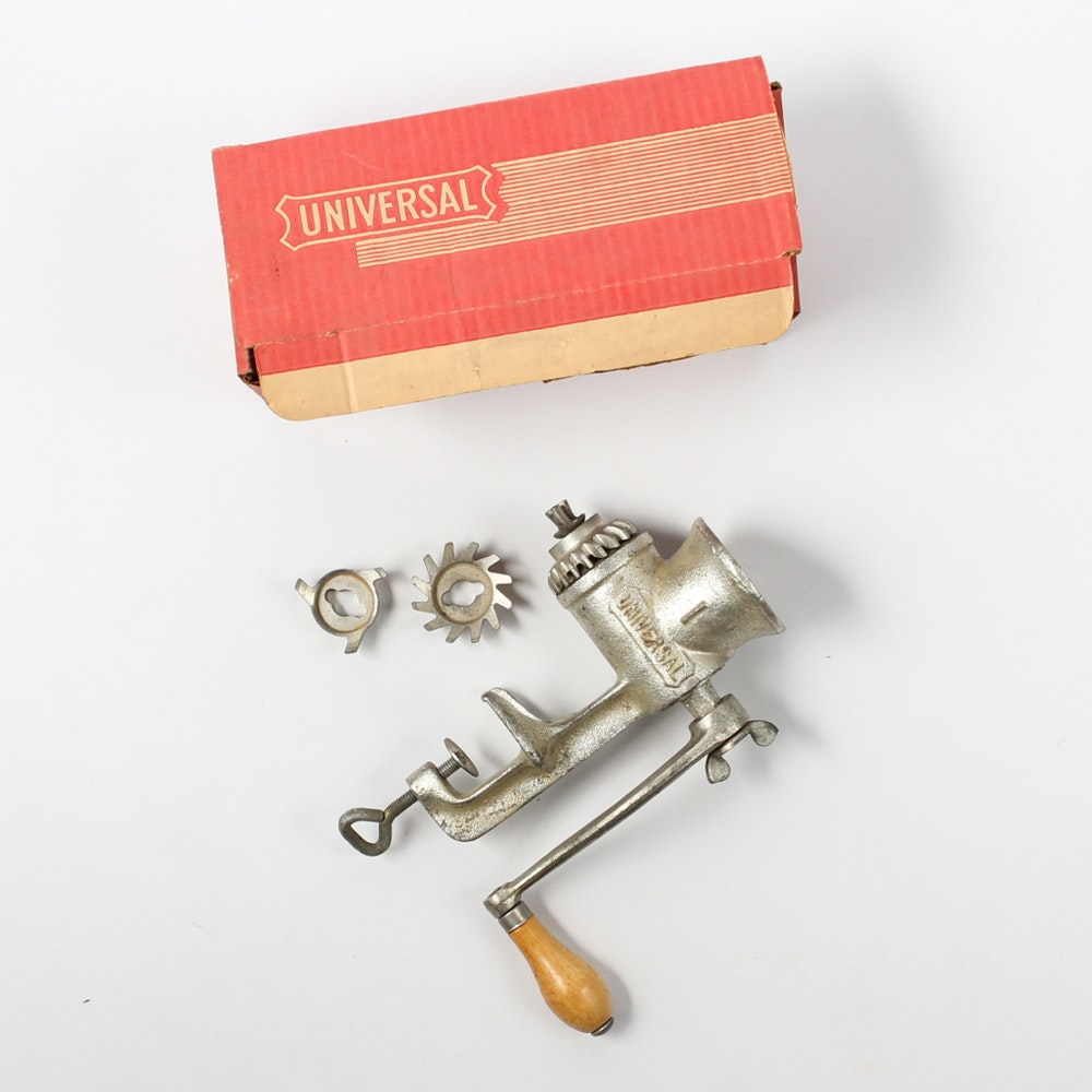 Vintage Universal Food and Meat Grinder