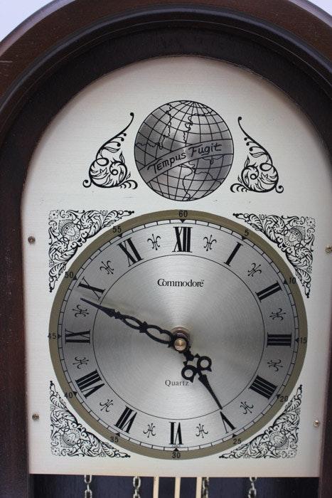 Commodore Quartz Quot Westminster Chime Quot Clock Ebth