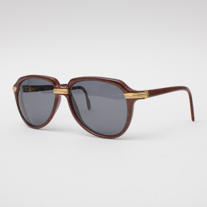 Cartier Cabriolet Sunglasses with Leather Case