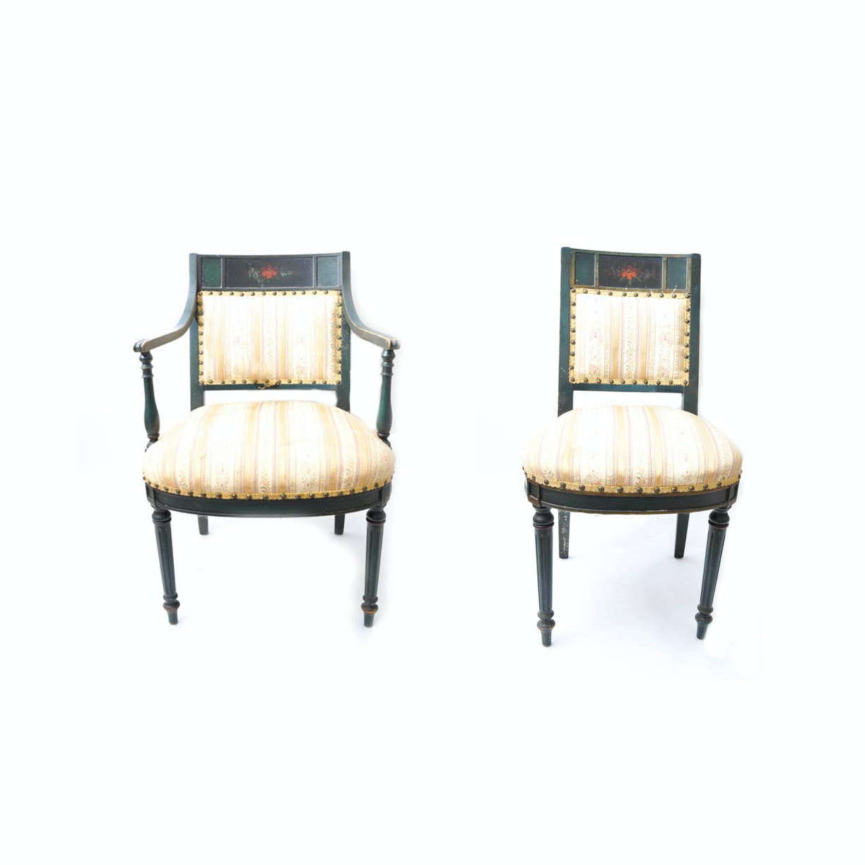 Late 19th to Early 20th Century Louis XVI Style Chairs