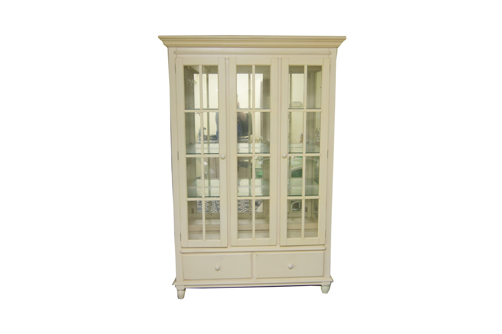 Charmant Glass Front China Cabinet ...