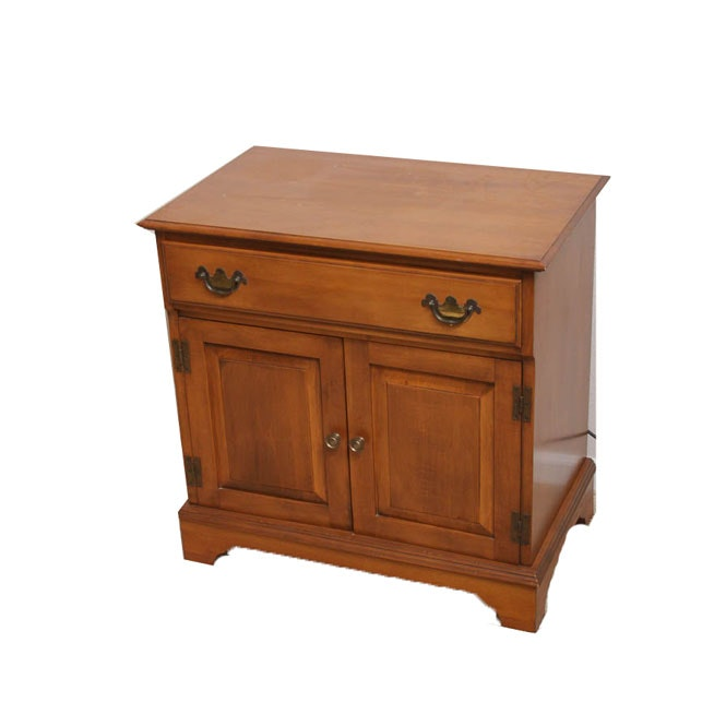 Vintage Chippendale Style One-Drawer Cabinet