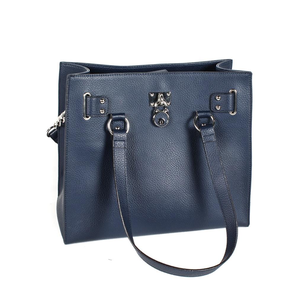 Wilsons Leather Blue Shoulder Bag