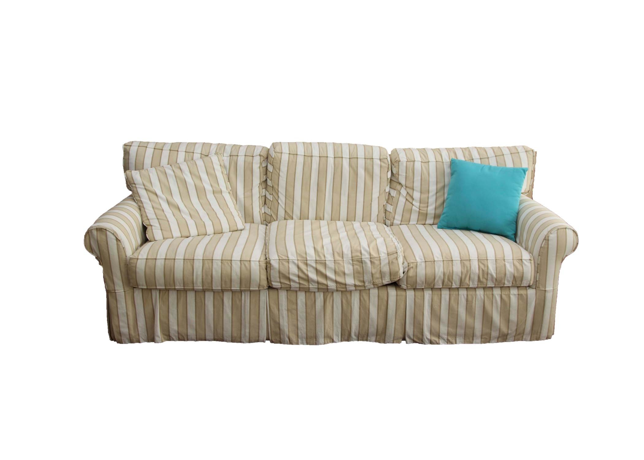 Slip Covered Sofa by Camden Collection