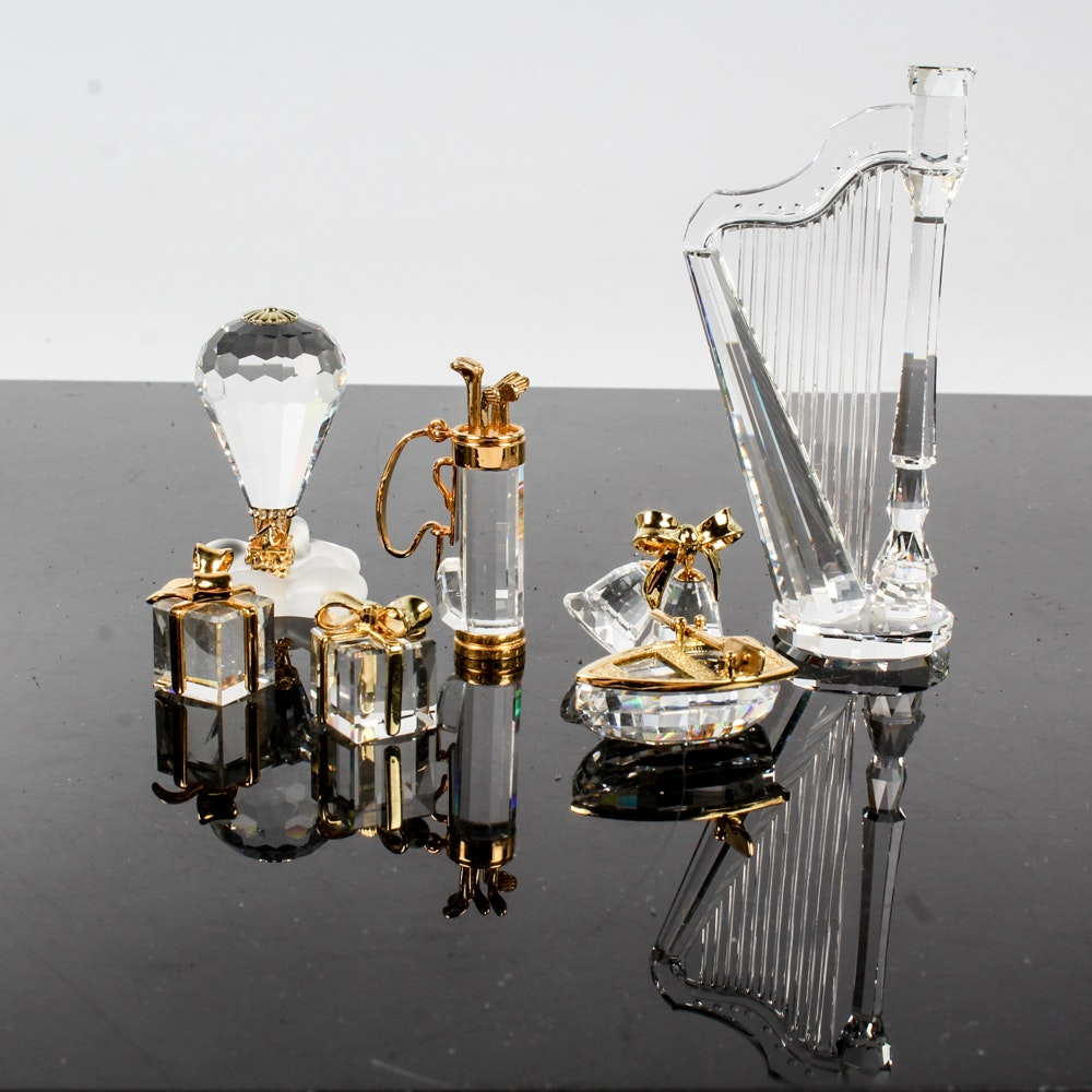 "Swarovski Crystal ""Memories"" Figurines"