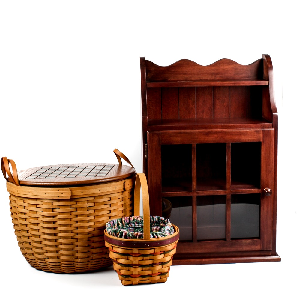 Home Decor Featuring Longaberger and Ethan Allen