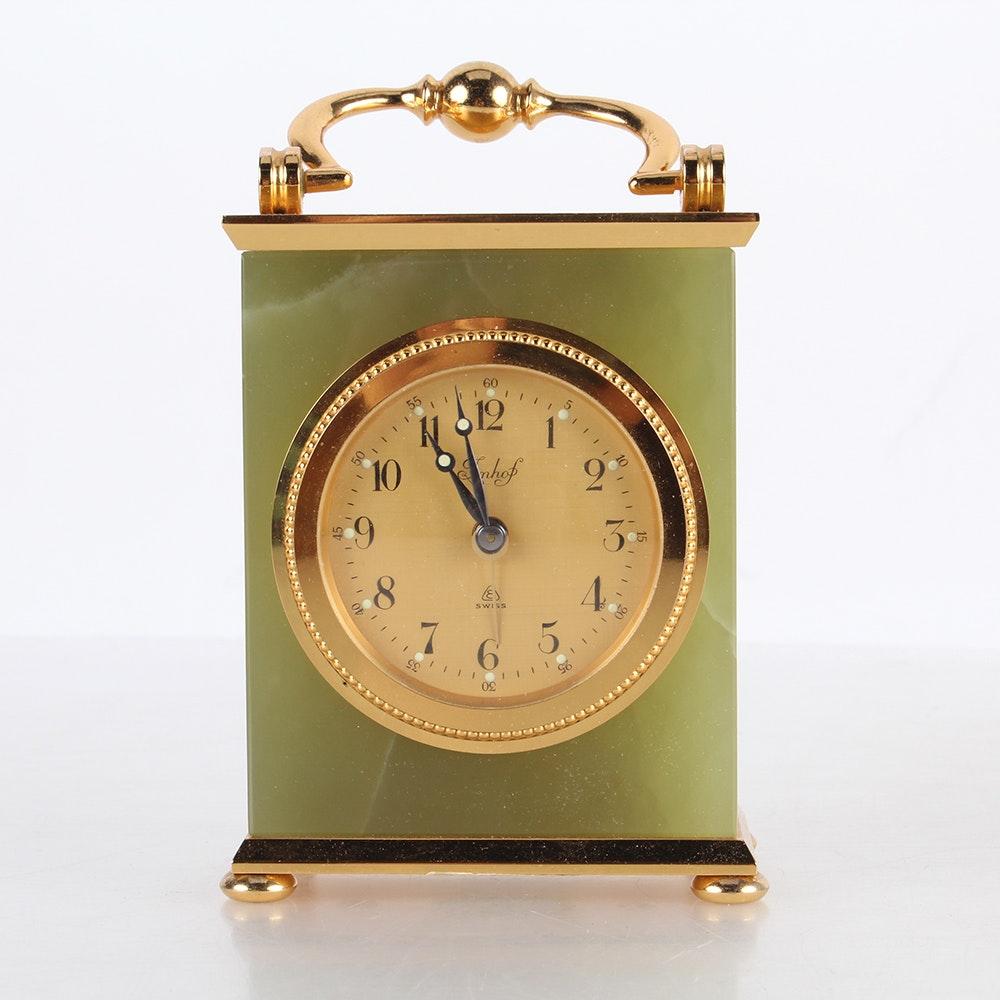 Imhof Onyx Carriage Clock