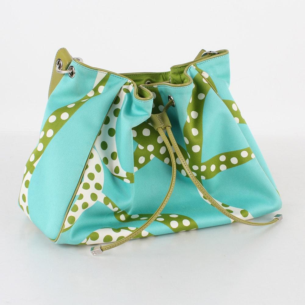 Kate Spade New York Fabric and Leather handbag
