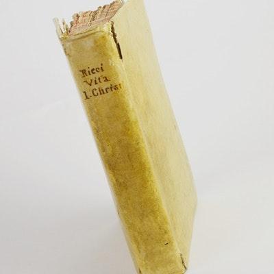 """Rare First Edition """"Vita D.N. Iesu Christi"""" 1607"""