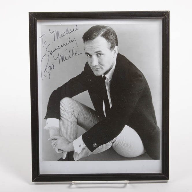Autographed Photograph of Ron Miller