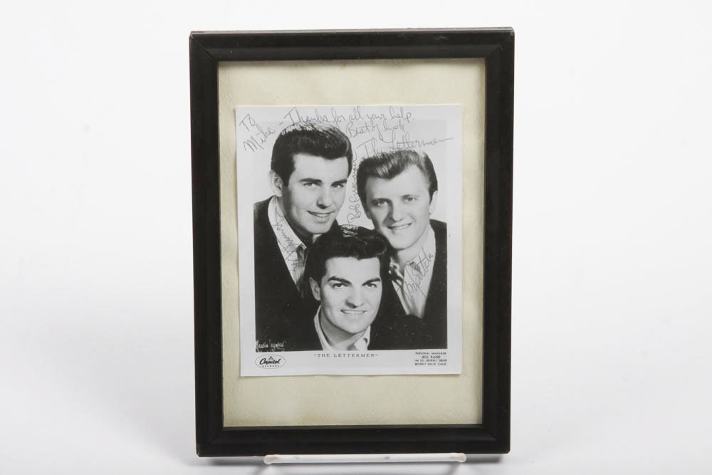 Signed Photograph of The Letterman