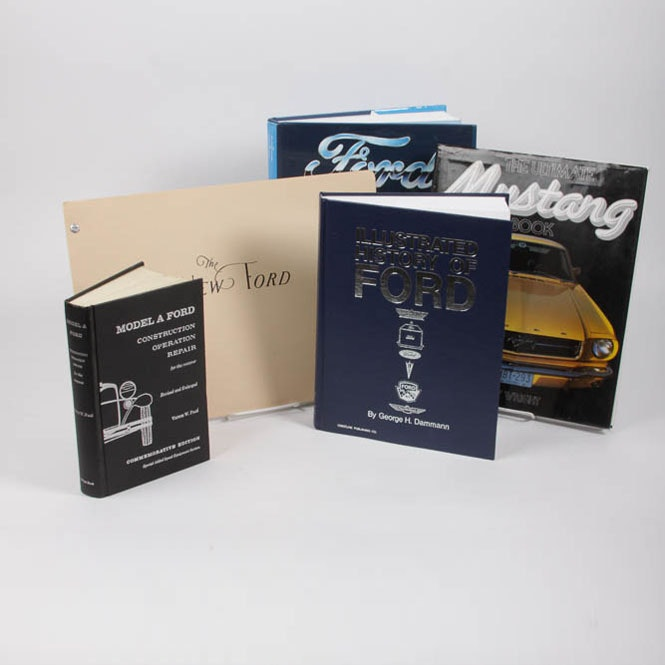 Ford Automobile Book Collection