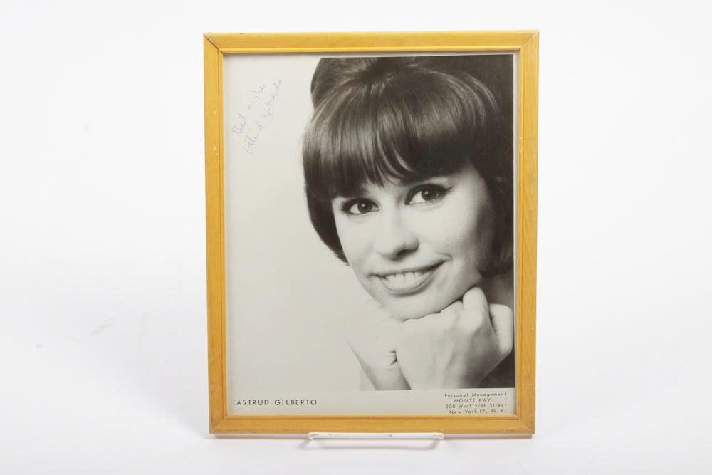 Photograph Of Astrud Gilberto