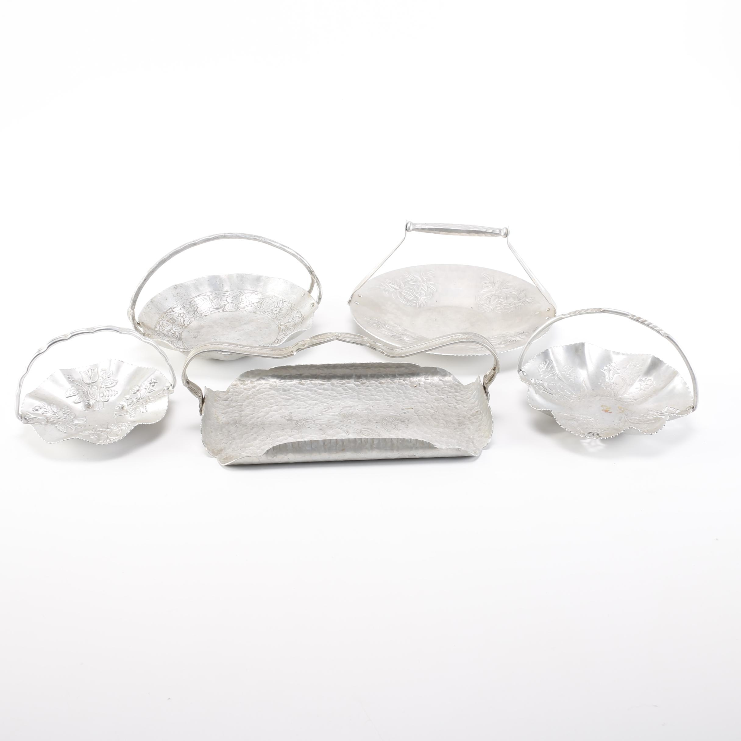 Collection Aluminum Ware Baskets