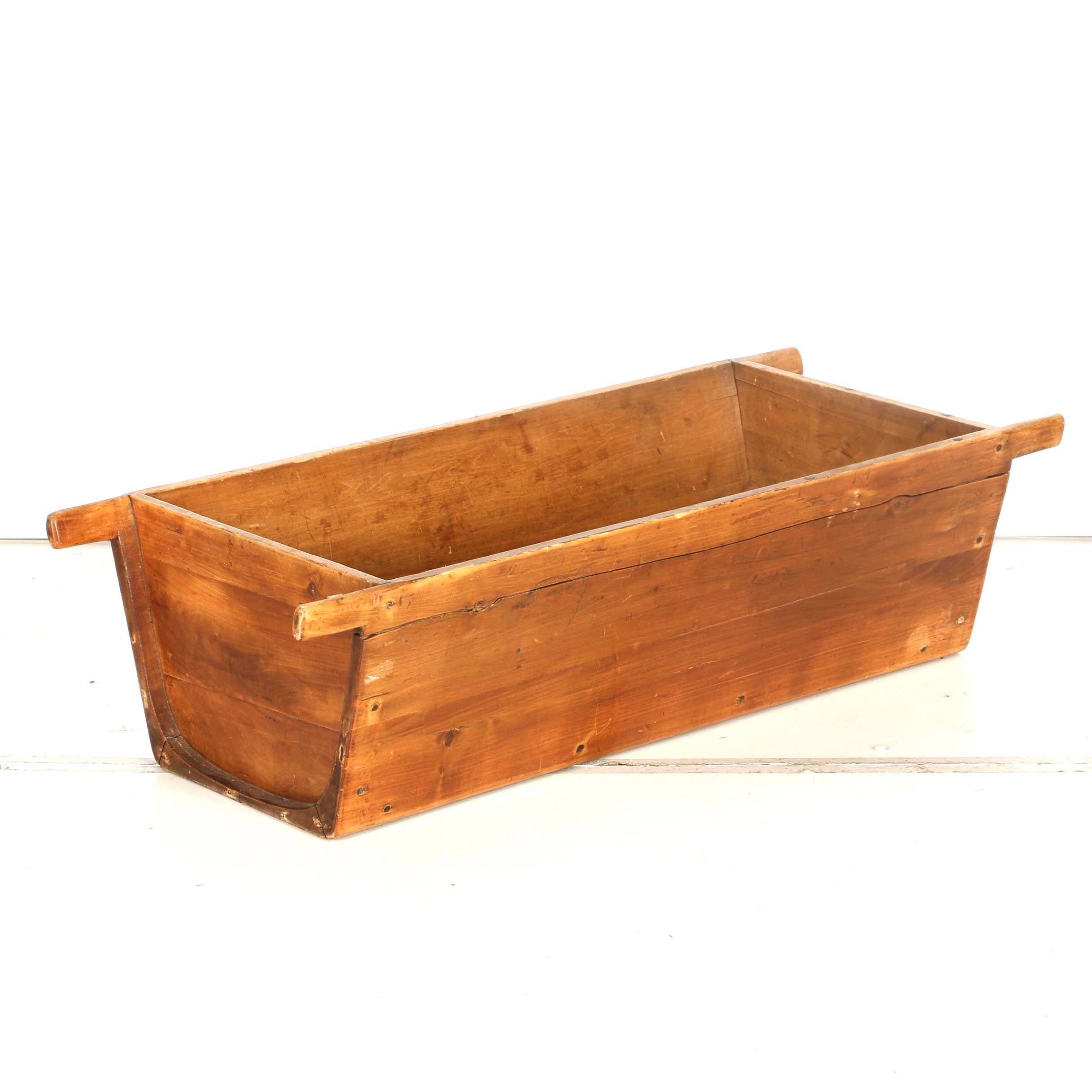 Vintage Wooden Trough