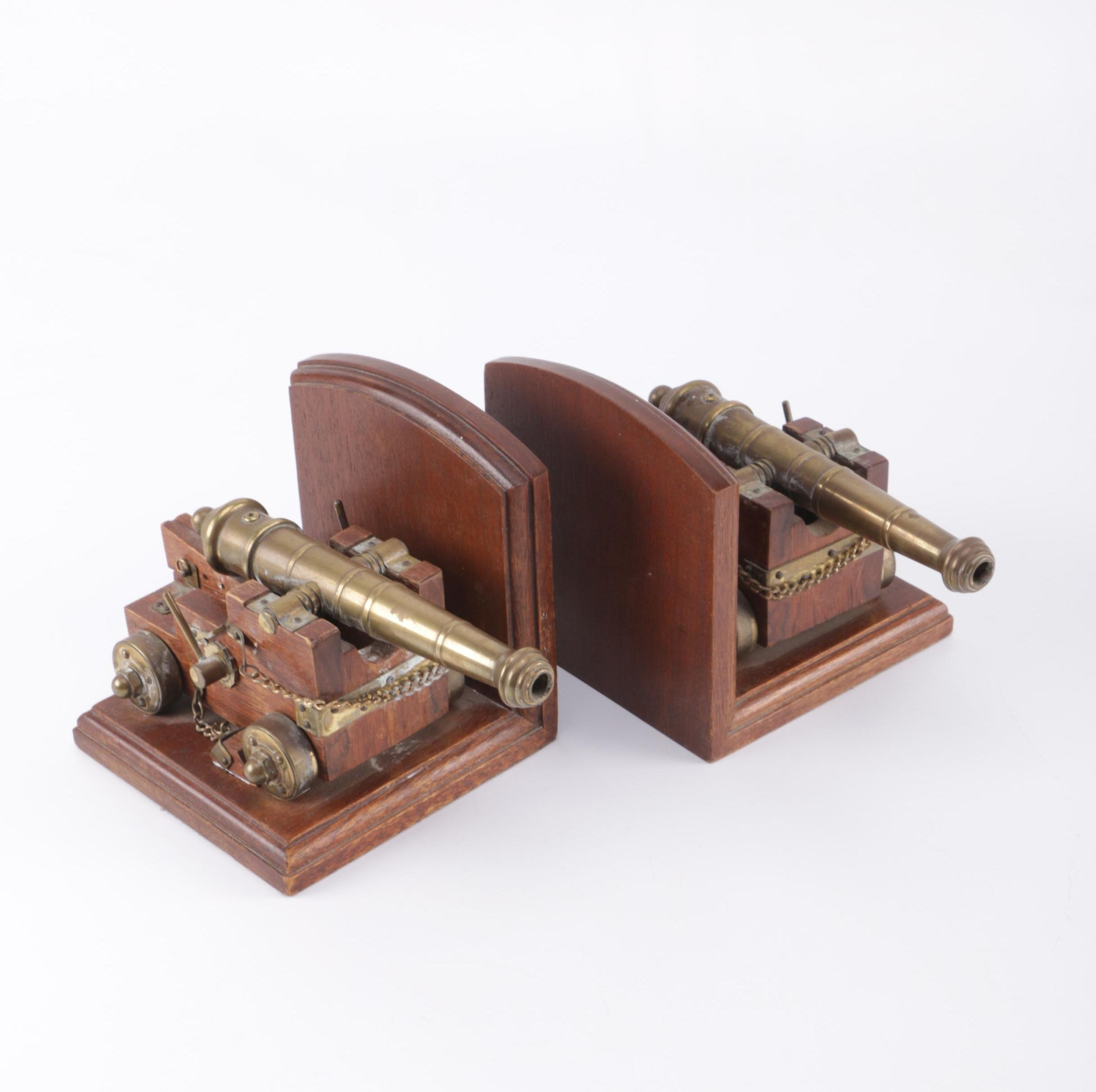 USS Constitution Cannon Bookends