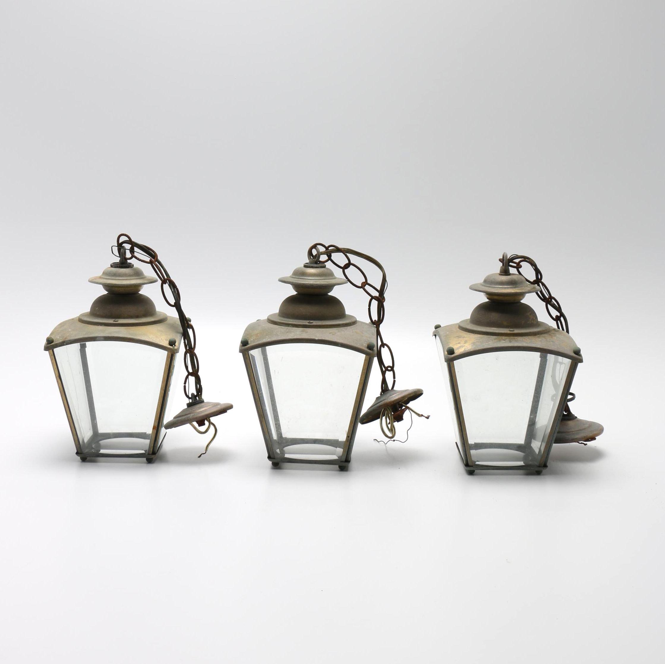 Brass Outdoor Lanters