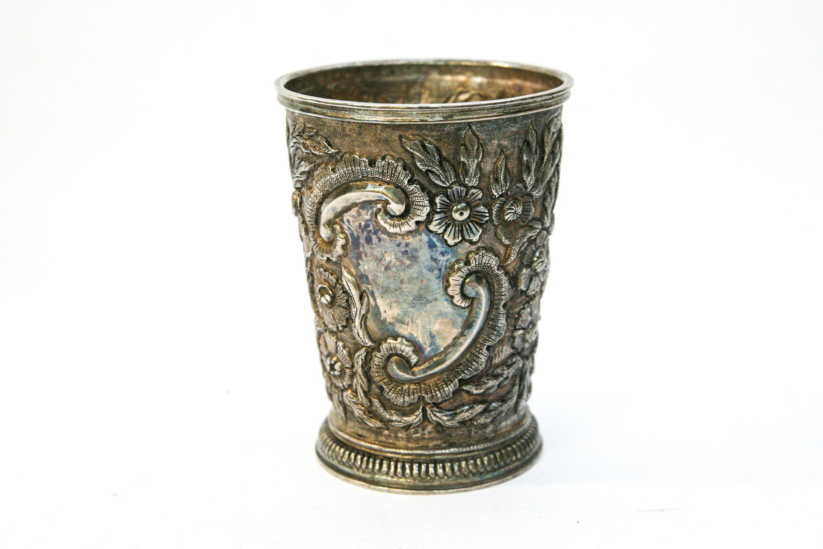 Oversized Sterling Silver Julep Cup