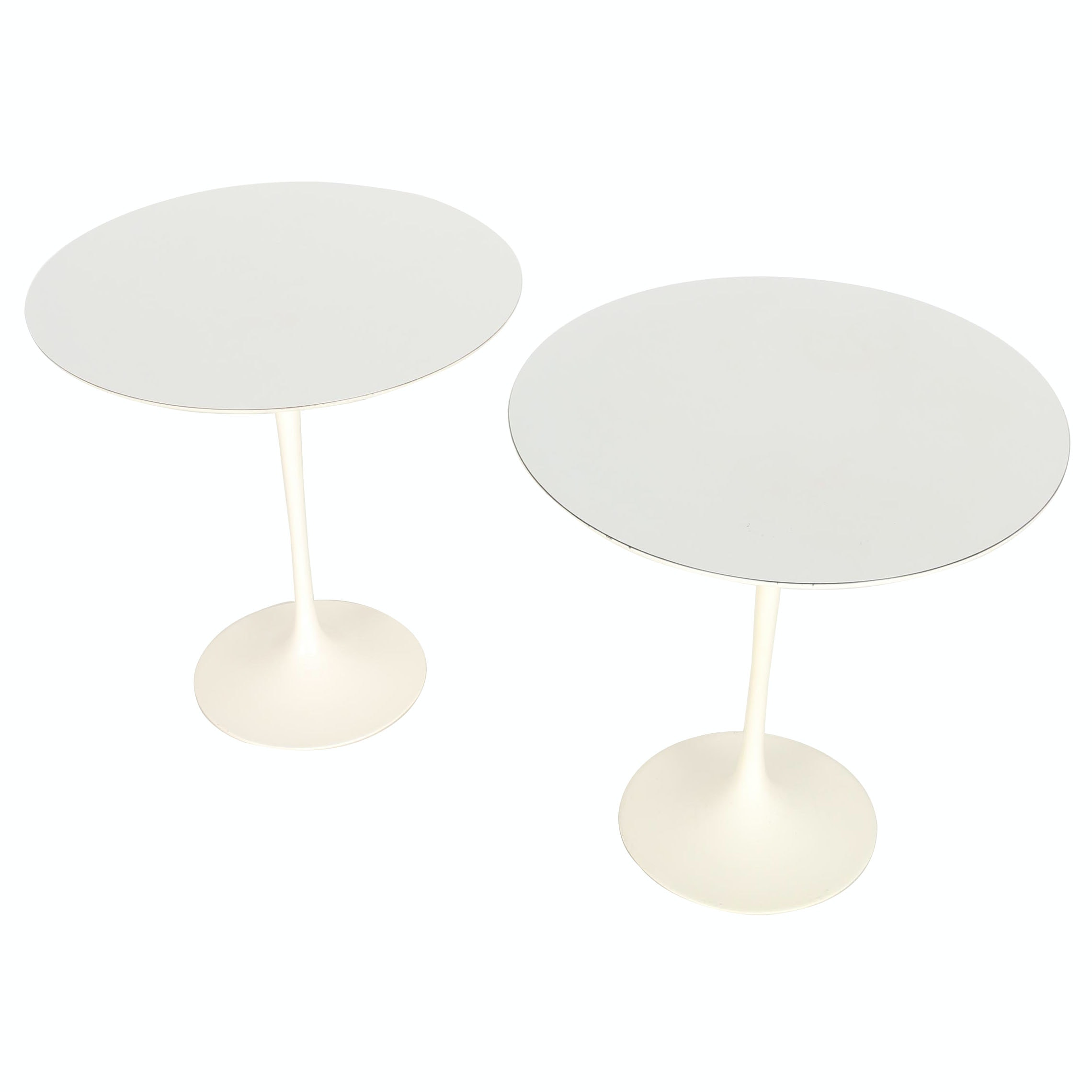 Vintage Modernist Side Tables by Eero Saarinen for Knoll International With Provenance