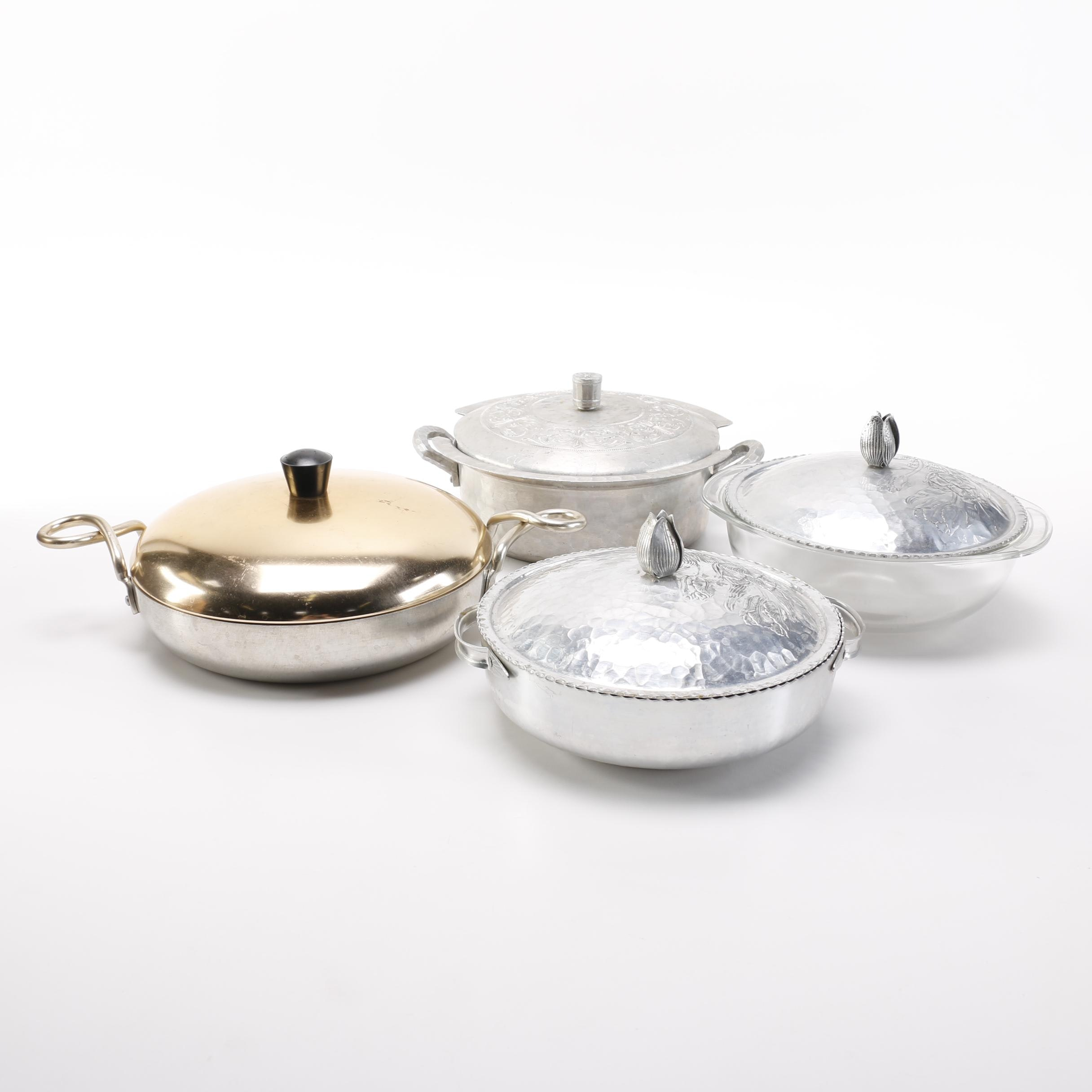 Collection of Aluminum 1940's Cookware and Others