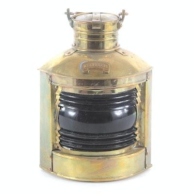 Authentic Brass Ship Lantern