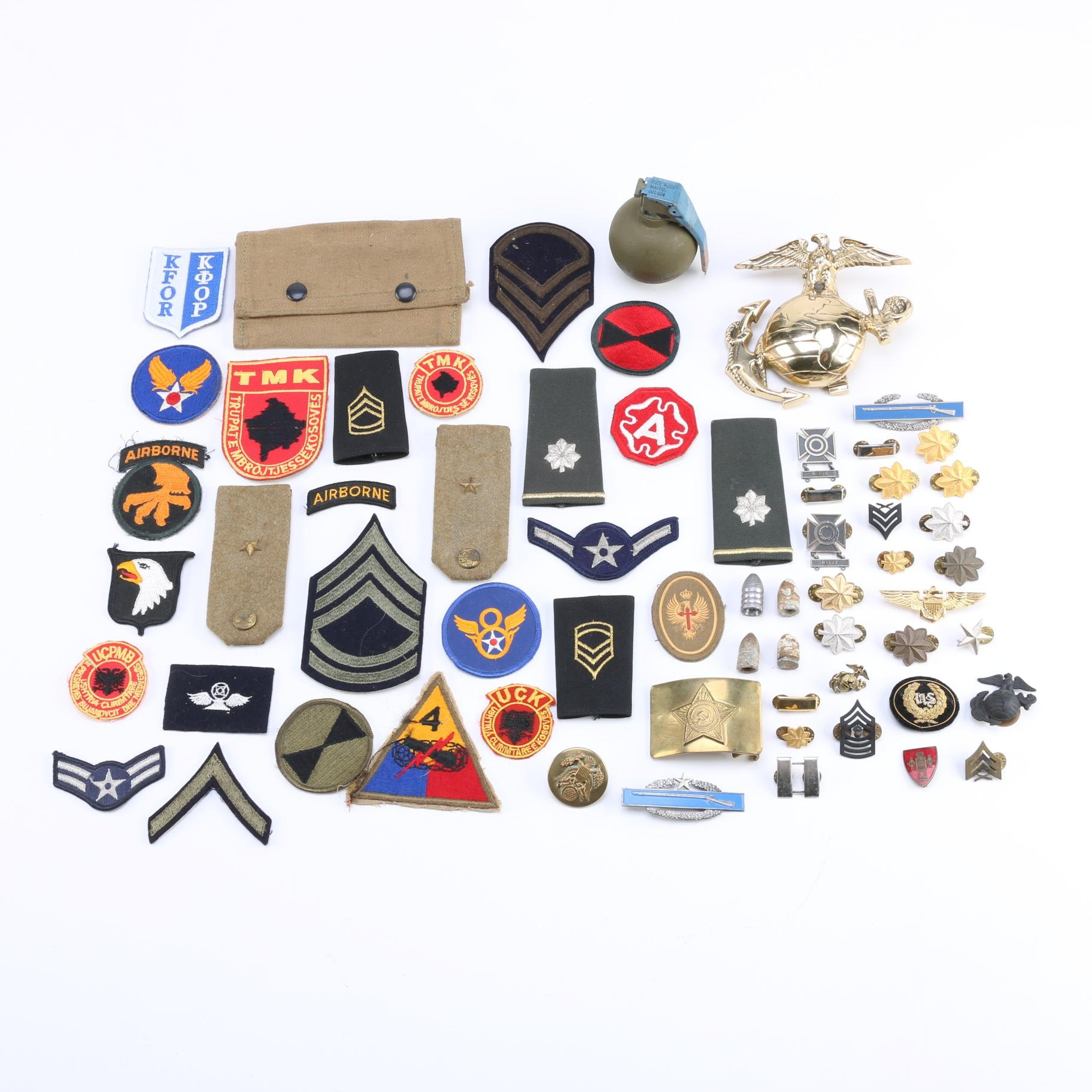Military Patches, Pins, and Memorabilia