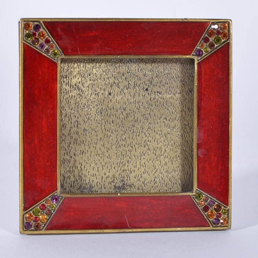 Jay Strongwater Miniature Picture Frame : EBTH