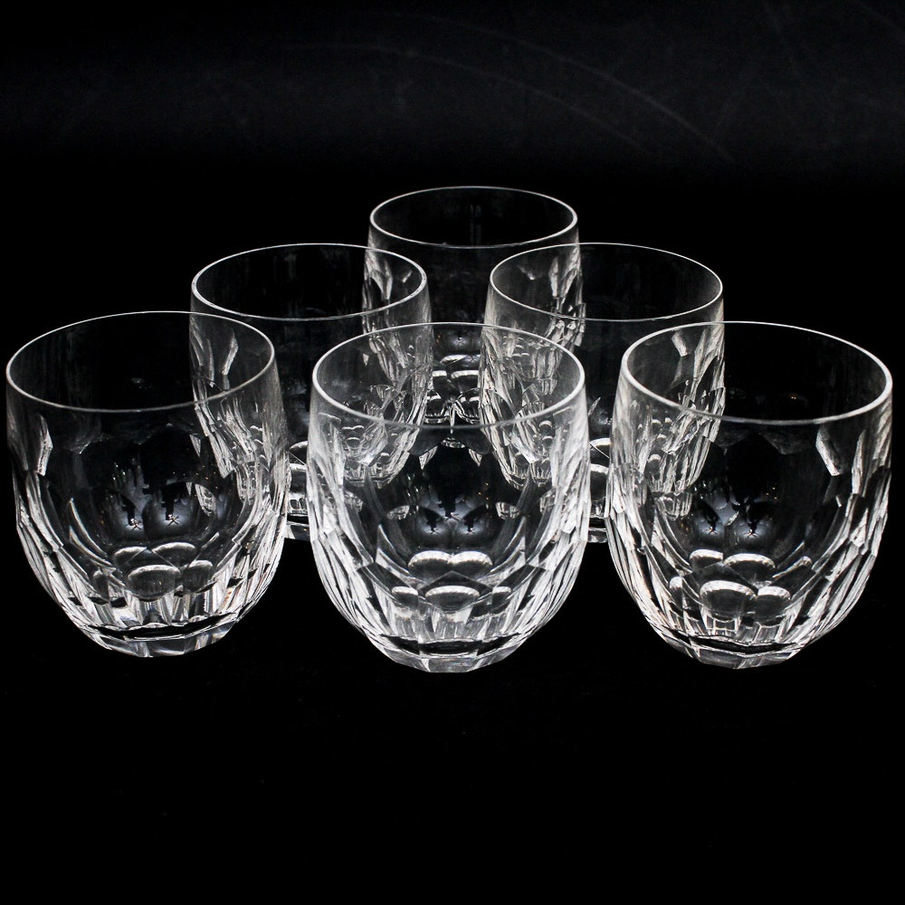 Waterford Crystal Old Fashioned Cocktail Glasses