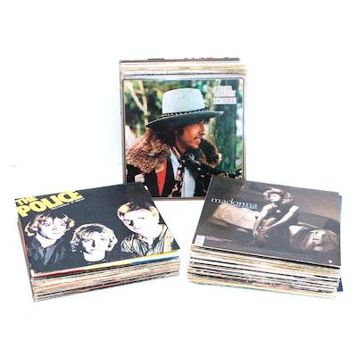 Beatles, Dylan, Zeppelin, Stones, Hendrix and Other Rock/Pop LPs