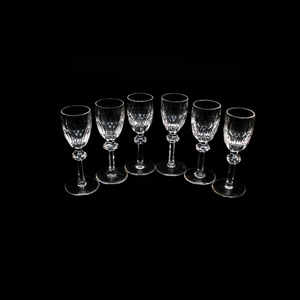 Waterford Crystal Cordial Glasses