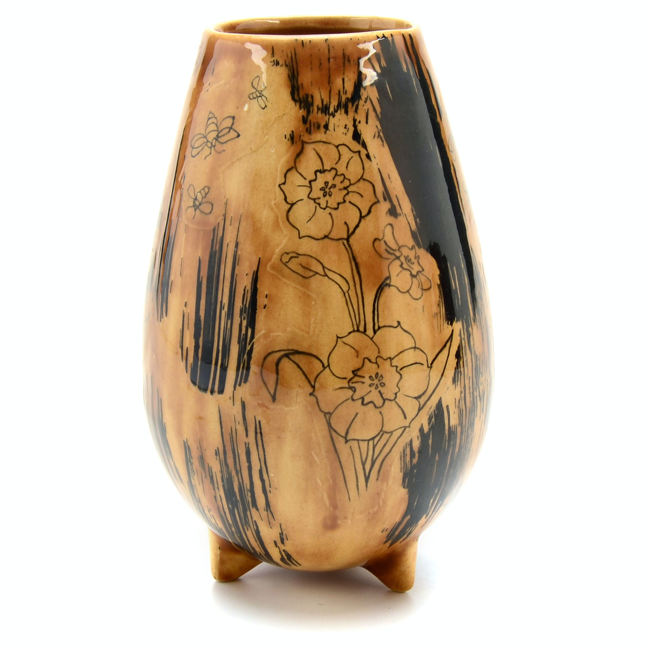 California Crafts Art Pottery Vase