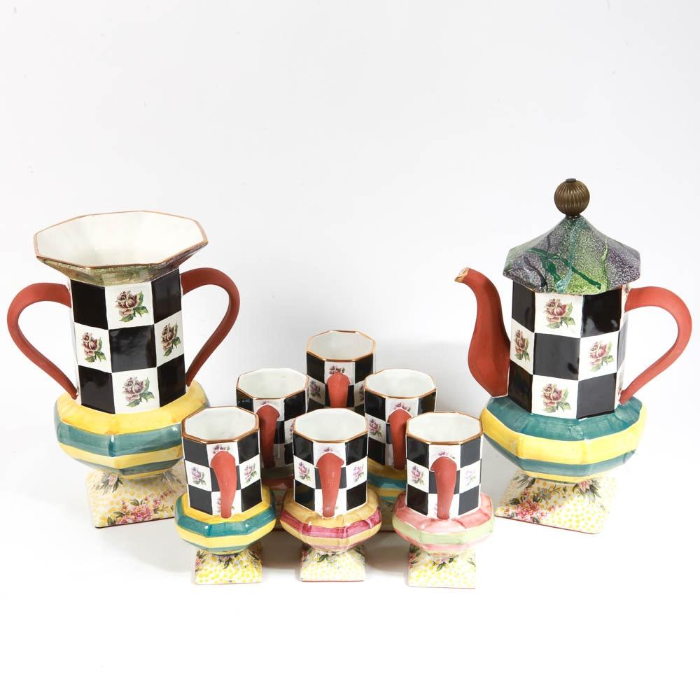 MacKenzie-Childs Tea Set