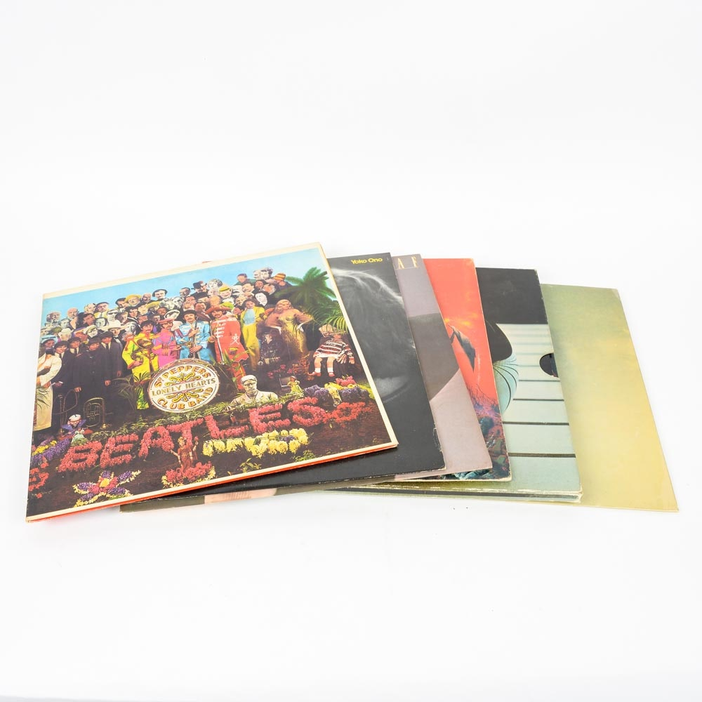 Beatles, John Lennon, The Who and Other Classic Rock LPs