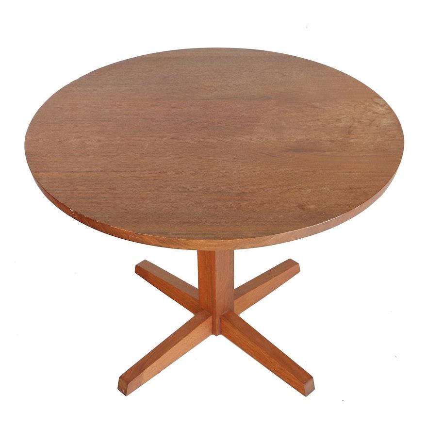 Vintage George Nakashima Round Pedestal Table With Provenance