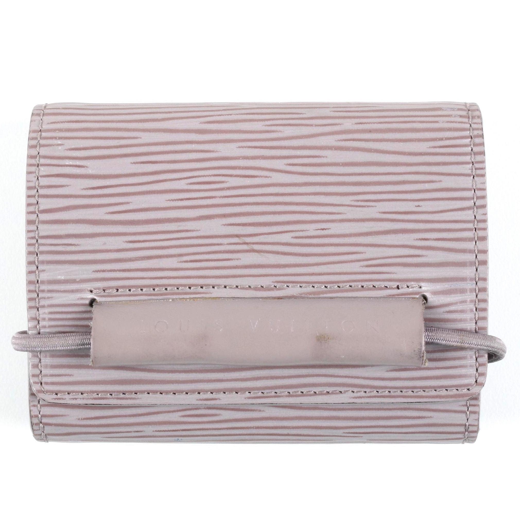 Louis Vuitton Epi Porte Monnaie Elastique Wallet
